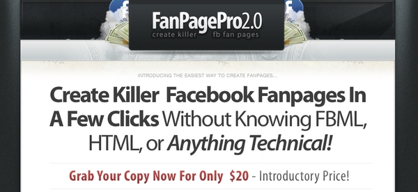 Product picture Facebook Fan Page Pro 2.0 - Full PLR w/ Sales Page & PSD