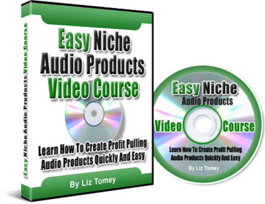 Product picture Easy Niche Audio Products Video Course