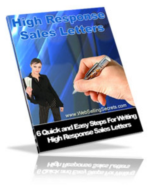 Product picture High Response Sales Response Generating Copywriting Pack