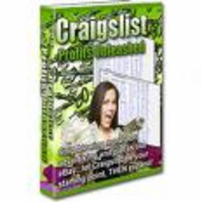 Product picture Craigslist Profits Unleashed